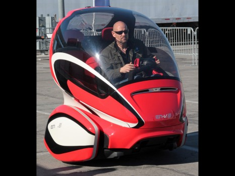 GM Electric Networked Vehicle Concepts Zip Around Las Vegas